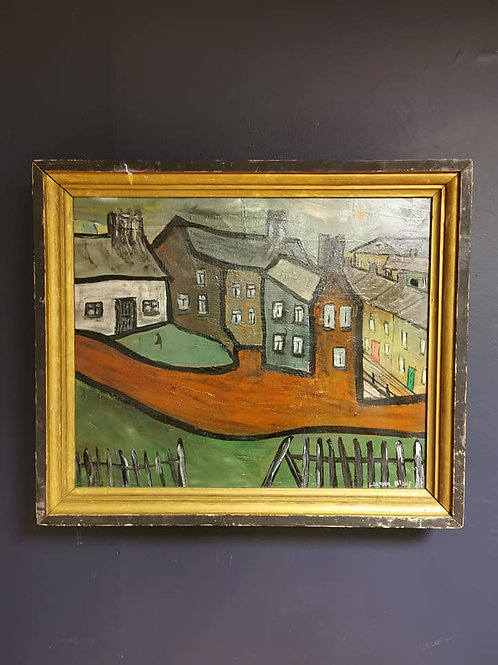 'Houses with a red wall' By Lockyer Alsop