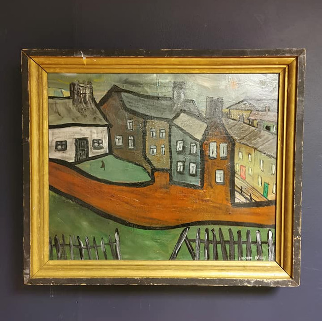 'House with a red wall' by Lockyer Alsop