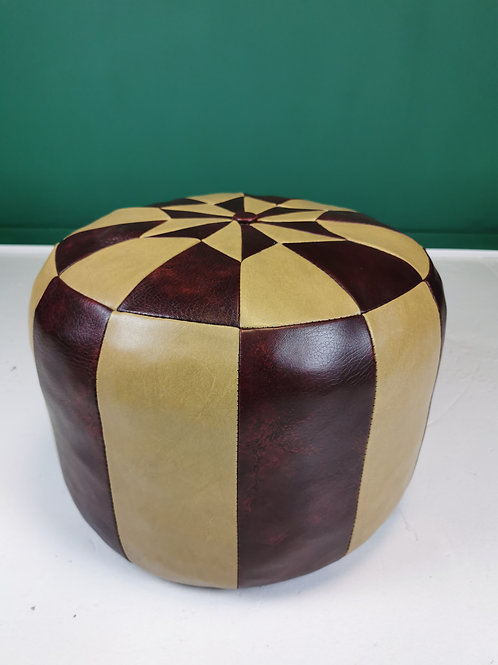 1960s leather Footstool