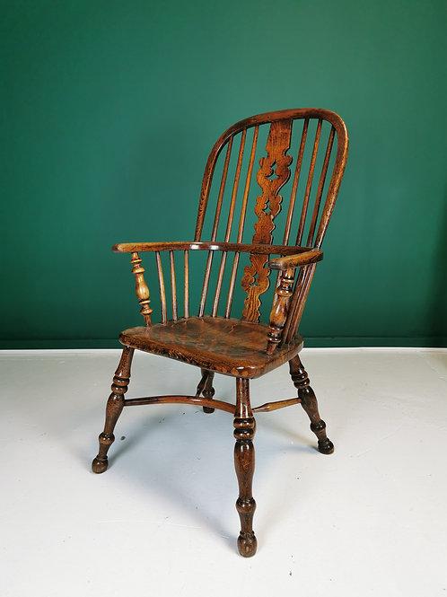 Ash & Elm crinoline stretcher Windsor chair