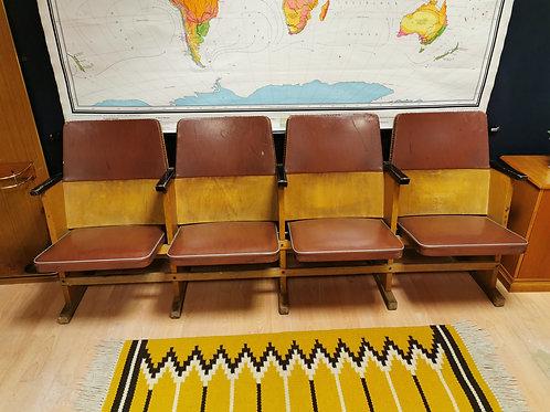 Hungarian mid century cinema seats