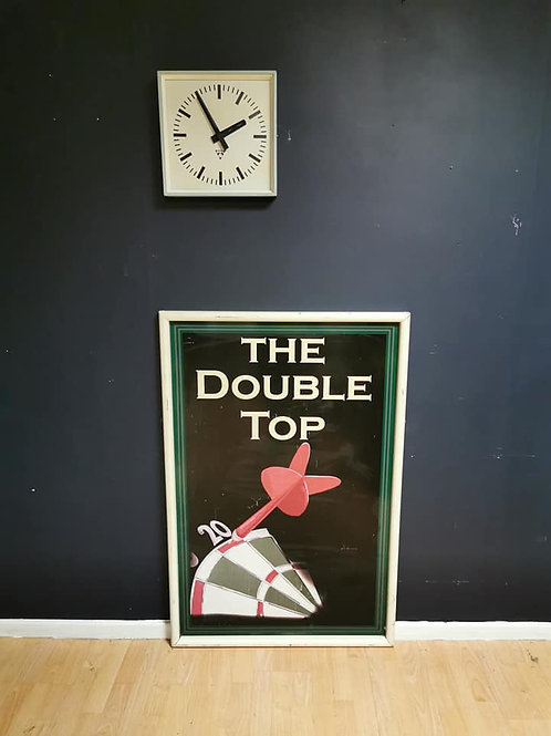 'The double top' Pub sign