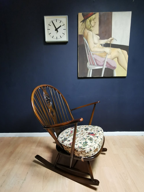 Ercol 316 Grandfather rocking chair