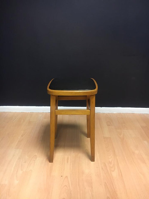 Ben chair black vinyl stool