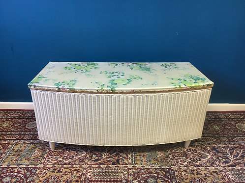Lloyd Loom linen box
