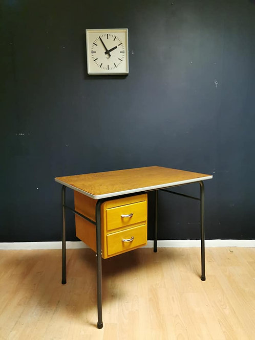 French mid century school desk