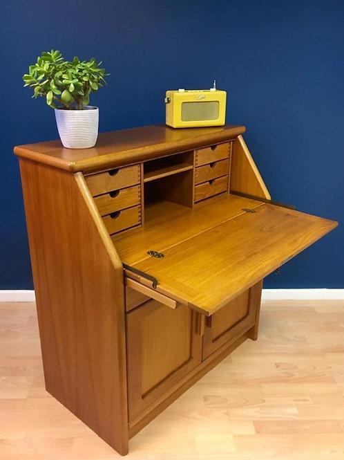 Vintage Danish teak bureau