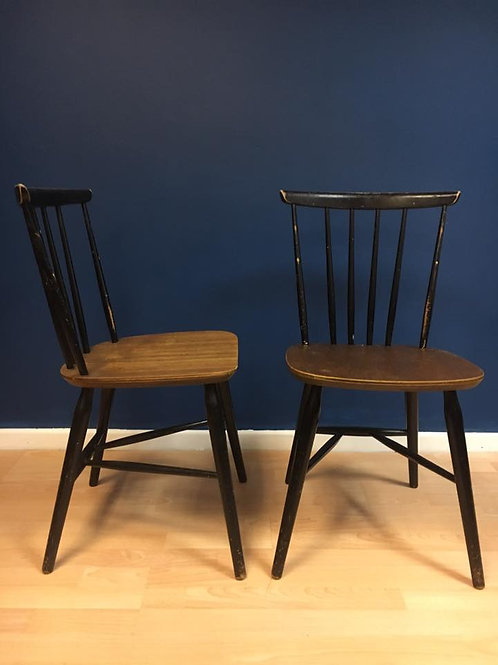 Pair of Mid century Farstrup chairs