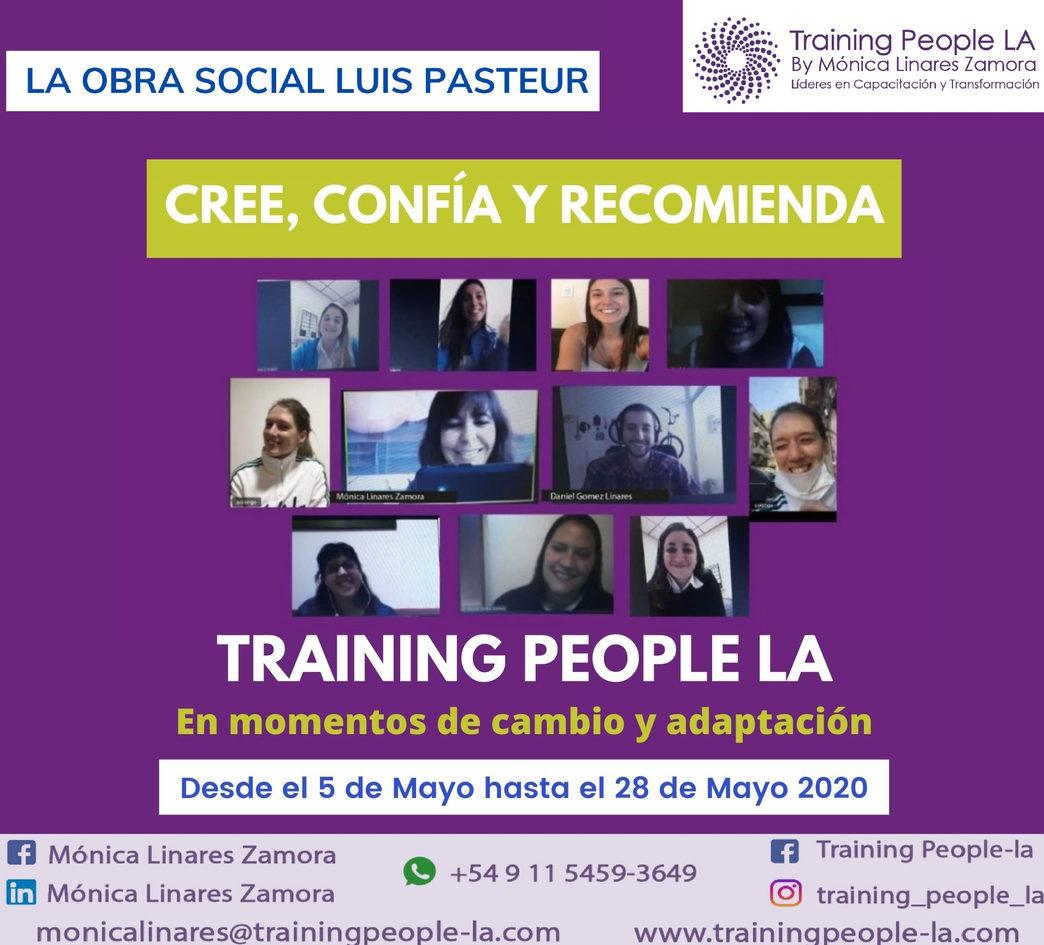Seminario Vivencial de La Obra Social Luis Pasteur 2020