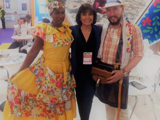 Fue una experiencia maravillosa, haber formado parte un año mas en la Feria Internacional de Turismo