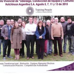 Seminario Vivencial. Hutchinson Argentina 2015