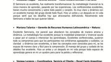 RESULTADO SEMINARIO INTENSIVO Y VIVENCIAL DE LIDERAZGO TRANSFORMACIONAL DE NOVIEMBRE DE 2014