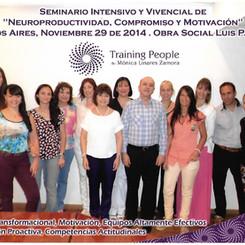Seminario Vivencial. Obra Social Luis Pasteur 2014