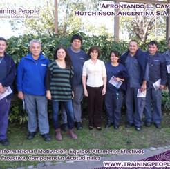 Afrontando el Cambio. Hutchinson Argentina S.A Mayo 2017