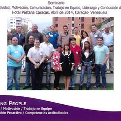 Seminario Vivencial. Hotel Pestana Caracas 2014