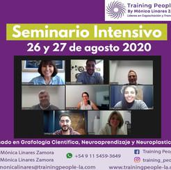"""Seminario Intesivo, """"Conquista tus Sueños"""" basado en Grafología Científica, Neuroaprendizaje y Neuroplasticidad."""