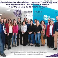 Seminario Vivencial. Obra Social Luis Pasteur 2018