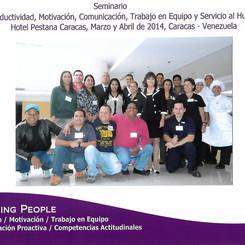 Eminario Vivencial. Hotel Pestana Caracas 2014