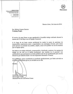 26 REFERENCIA SHERATON PILAR - GUILLERMO