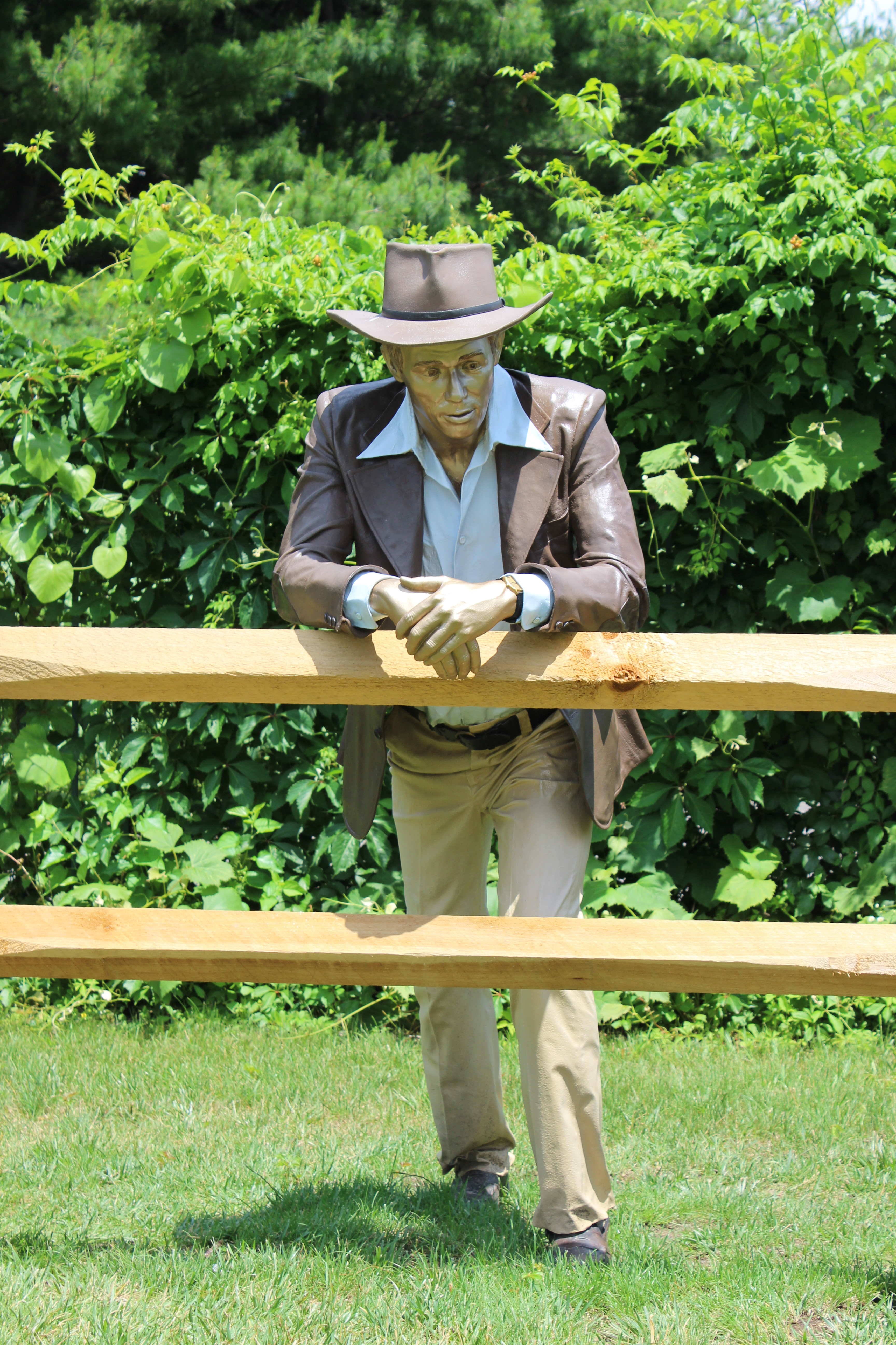 Taking Stock by Seward Johnson