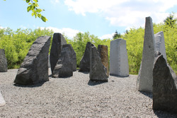 Space of Stone by M. Abakanowicz