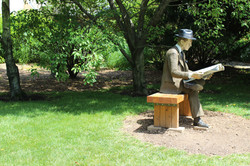 Sculpture near Nature's Laugh