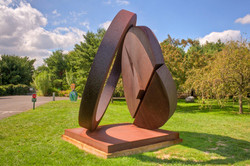 Folded Circle Ring: Fletcher Benton