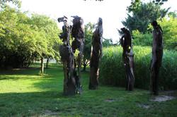 War Memorial III by Linda Cunningham