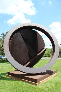 Folded Circle Ring 2 Fletcher Benton
