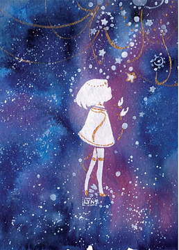 LIttle girl with stars.png