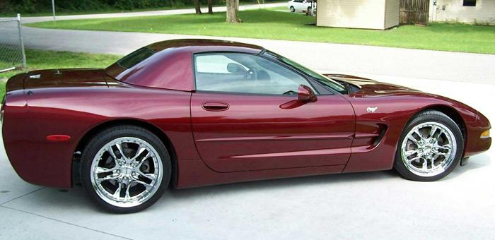 Hardtops For The Corvette C5 1998 2004