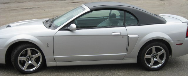 Mustang 1994 2004 Cobra Style Removable Hardtop