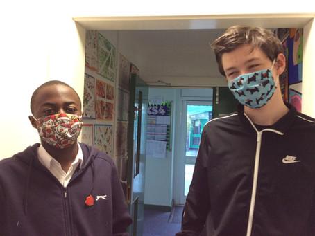 KS4 Make Face Masks