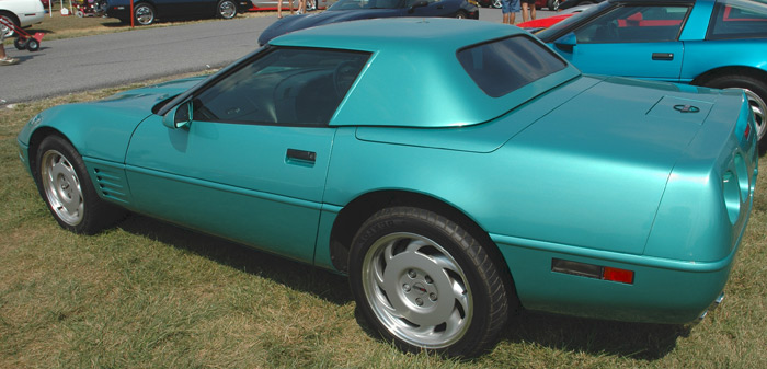 Smooth Line Hardtops for Corvette convertibles