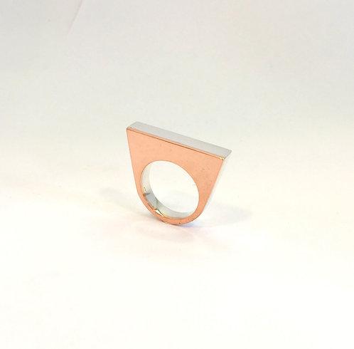 anel color quadrado
