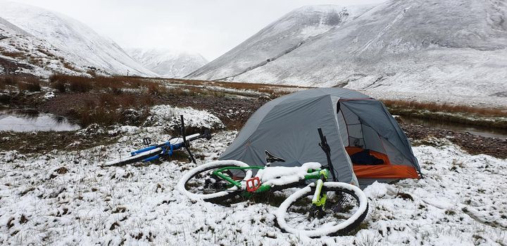 Bikepacking in winter conditions - tent options