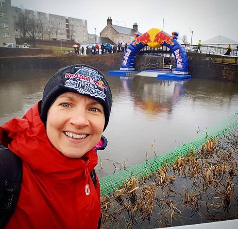 Rosie Baxendine at Red Bull Neptune's Steps