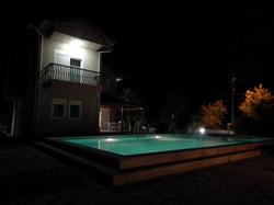 The Dreamturkishvilla at night