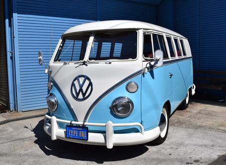 1967年式 タイプ2バス 11ウィンドウ