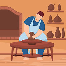 person-home-making-pottery_23-2148206586