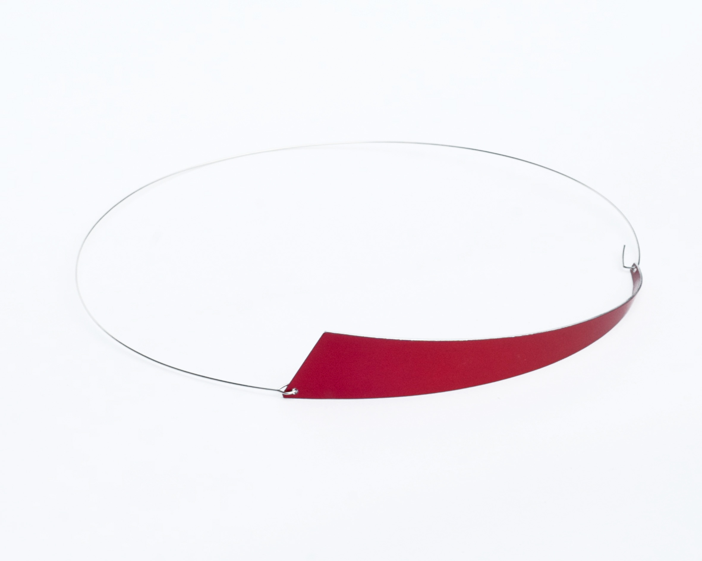 PPizani_SIETE - SEVEN Necklace RED
