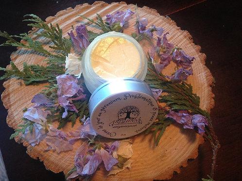 Crème au géranium. Problématique et peaux matures.