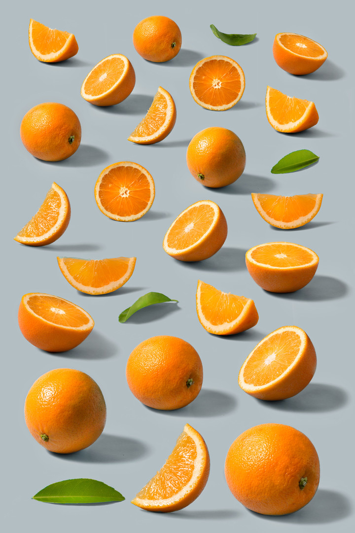 Oranges and Showers, The Secret to De-Stressing