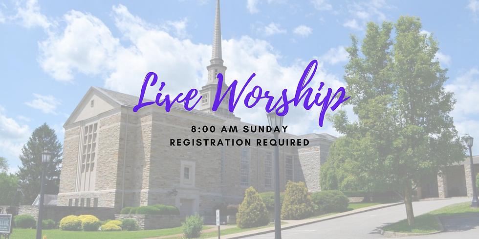 Sunday 8:00am June 14th - Live Worship