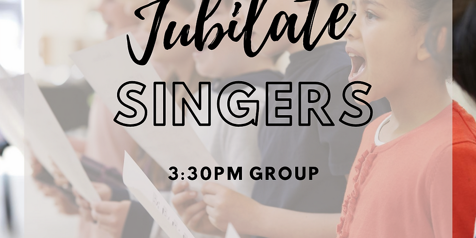 JUBILATE - Every Tuesday 3:30pm Group