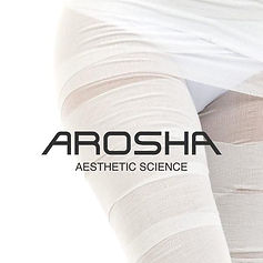 Arosha body treatment company banner