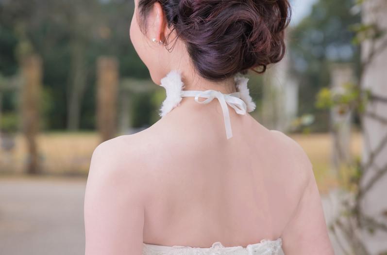 My Color Wedding dress