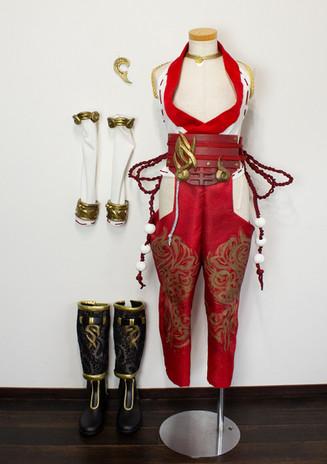 DEAD OR ALIVE 紅葉風衣装