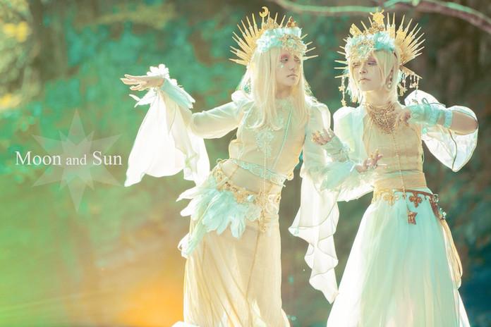 星の集い〜月と太陽〜