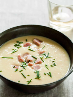 ham potato and leek soup